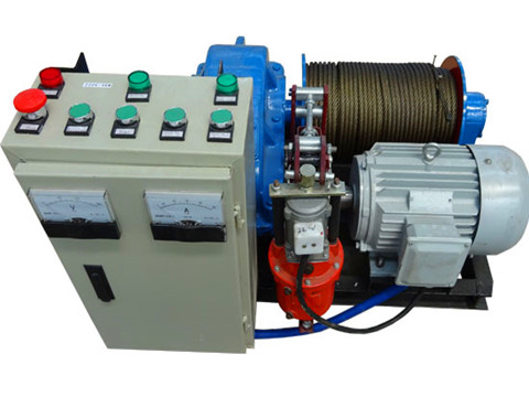 AICRANE high speed winch 4 ton for sale