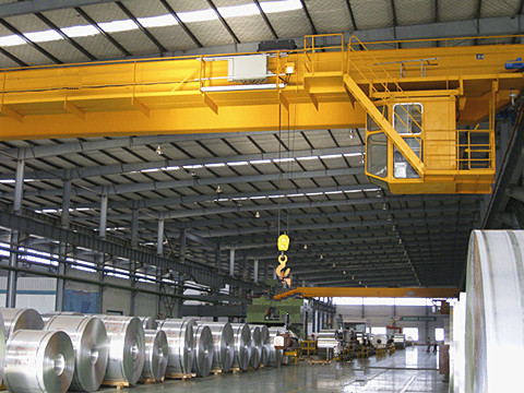common double girder 30 ton bridge crane design