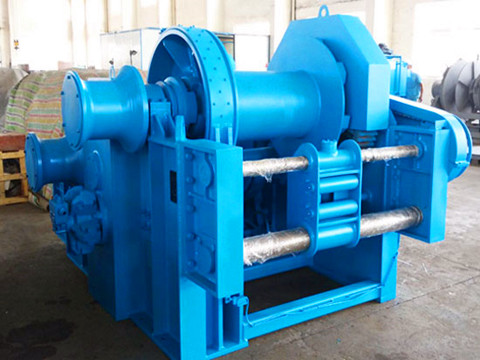 double drum hydraulic winch for sale