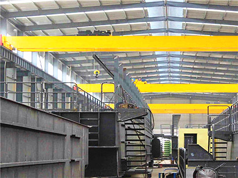 double girder 20 ton bridge crane with hook supplier