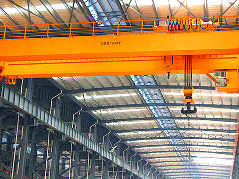 double girder electric overhead travelling crane supplier