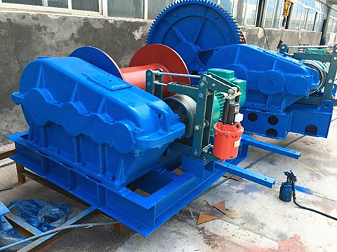 electric winch 100 ton supplier