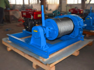 high speed electric winch 12 ton for sale
