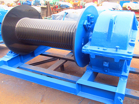high speed electric winch 50 ton design