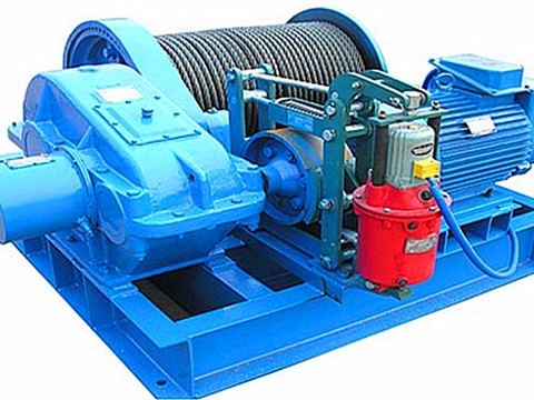 high speed electric winch design