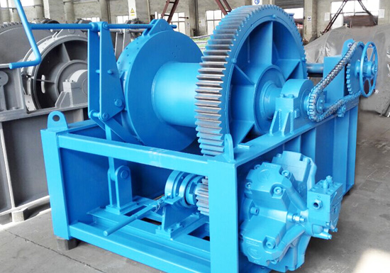 hydraulic winch 30 ton design