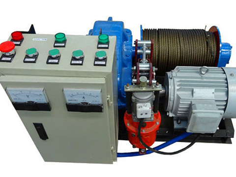light duty electric winch design