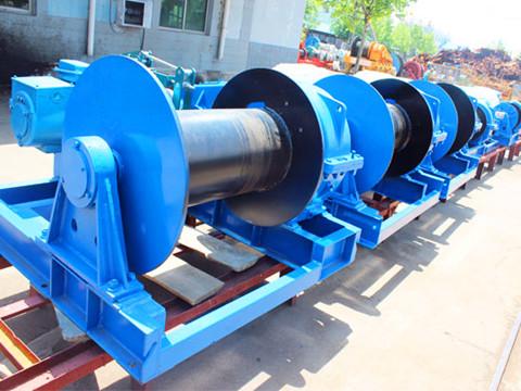 low speed electric winch 12 ton design