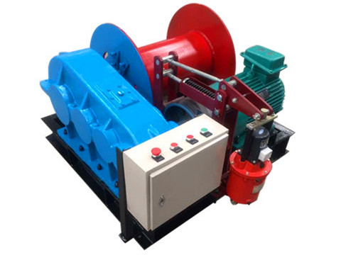 low speed electric winch design