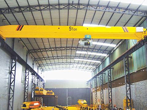 single girder 5 ton garage crane for sale