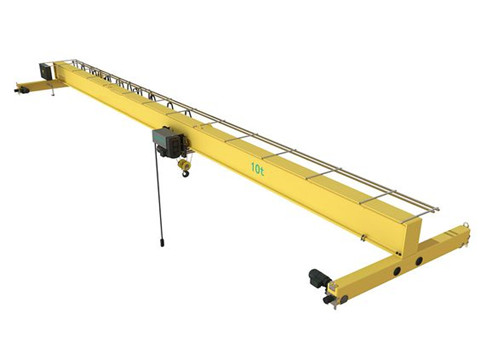 single girder electric overhead travelling crane