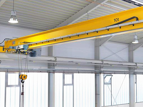 single girder garage 10 ton crane