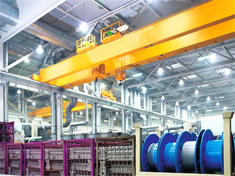 standard 30 ton double girder bridge crane design