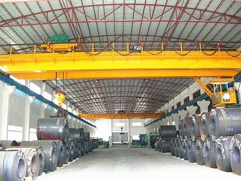 top running 30 ton bridge crane design