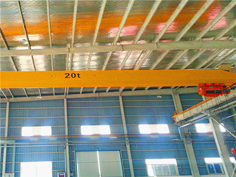 top running single girder crane supplier
