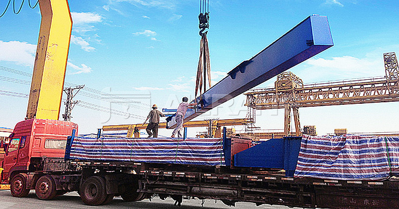 36 Ton Container Gantry Crane Deliveried to Russia