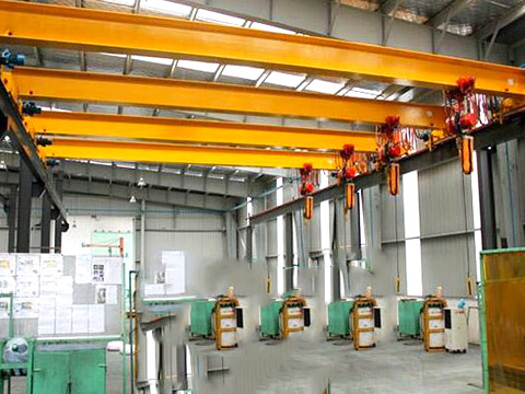 Aicrane favorable 6 ton bridge crane price