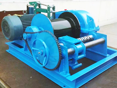 electric winch 5 ton design