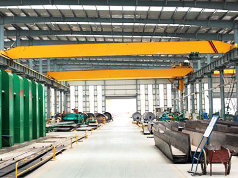 quality single girder overhead crane 6 ton design