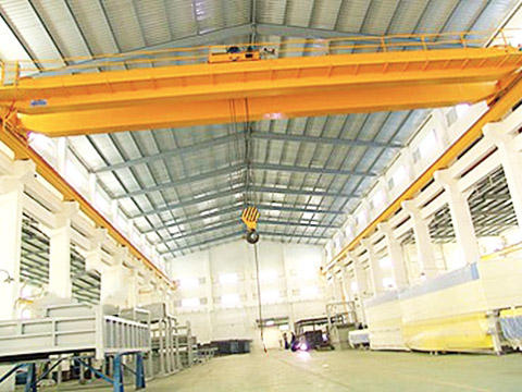 quality warehouse bridge crane