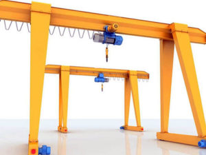 single girder small gantry crane for sale
