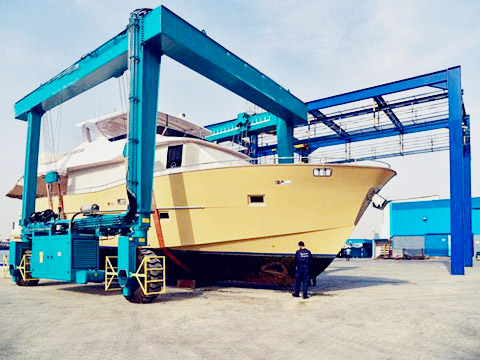 quality marine travel lift design