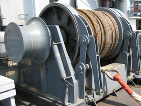 deck winch fishing