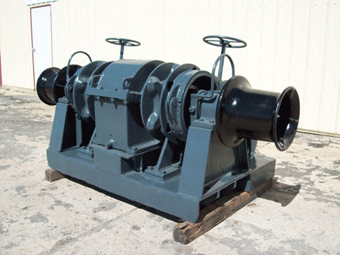 marine deck winch