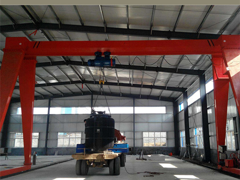 shop gantry crane
