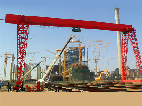 truss shop gantry crane