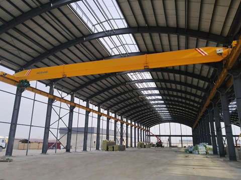 electric overhead travelling crane 10 ton