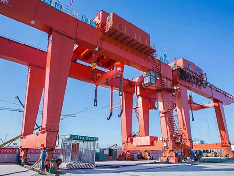 AQ-MG 100 Ton Gantry Crane