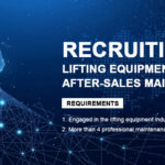 Recruiting Construction Equipment Global After-sales Maintenance Outlets
