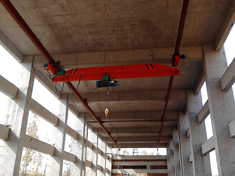 single girder underhung overhead crane