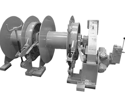 split drum winch