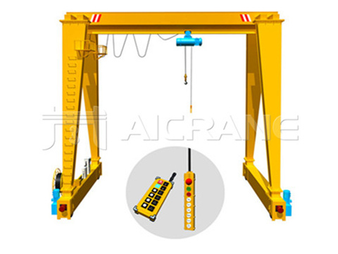 single girder gantry crane 5 ton