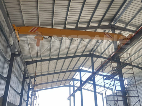 5 ton single girder crane