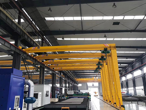 small semi gantry crane design
