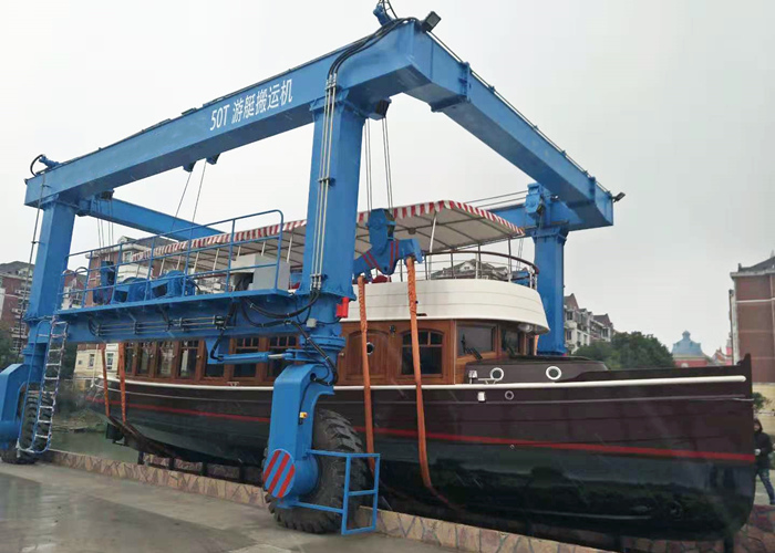 50 ton travel lift for sale