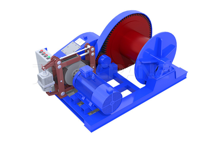 single drum electric winch